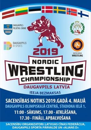 Даугавпилс принимает Чемпионат Северных стран по борьбе
