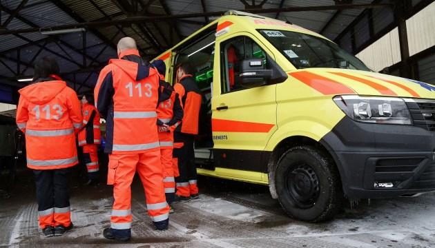 В Риге в ДТП попала скорая помощь: в аварии четверо пострадавших