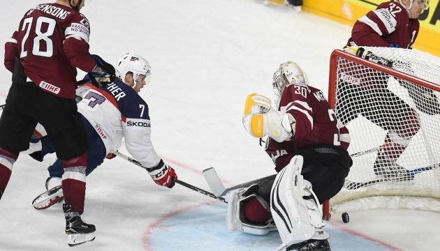 Хоккей: сборная Латвии была в шаге от победы