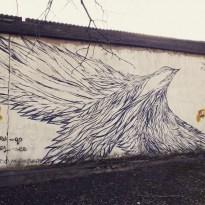 Выйти из тени или остаться незамеченным: истории уличных художников Даугавпилса