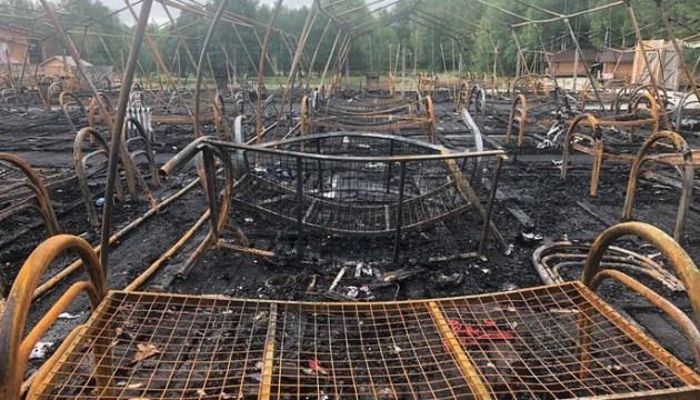 В России сгорел детский палаточный лагерь (дополнено)