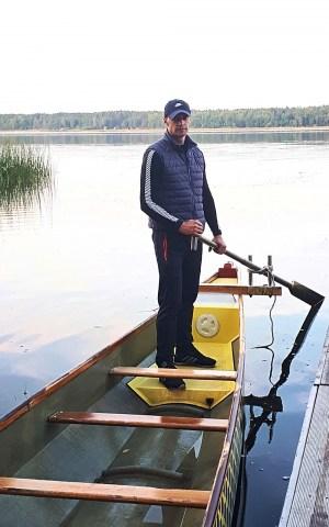 Виктор Харун: «В конце августа на озере Большие Стропы будет жарко!»