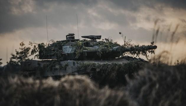 Военная техника на дорогах Даугавпилсского края