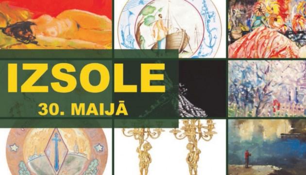 В мае состоится крупнейший в Балтии аукцион произведений искусства в Rietumu