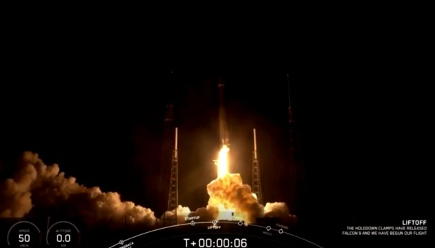 SpaceX запустила девятую партию спутников системы глобального доступа к интернету Starlink (ВИДЕО)