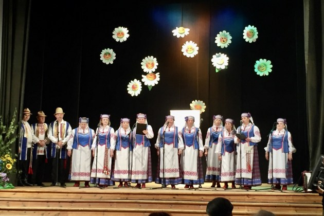 На празднике у белорусов Екабпилса
