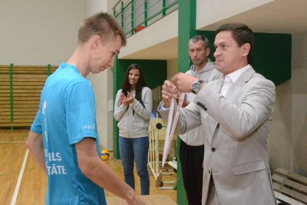Волейбольный клуб «Эзерземе» настроен на лигу мастеров Credit24, но…