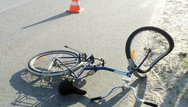 На Химии сбили велосипедистку