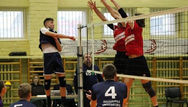 Волейбол: игры будут проводить между латвийскими клубами
