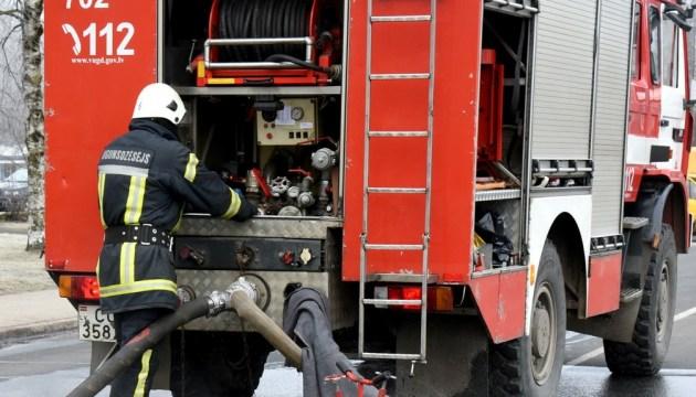 В Даугавпилсском крае вчера тушили пожар повышенной опасности