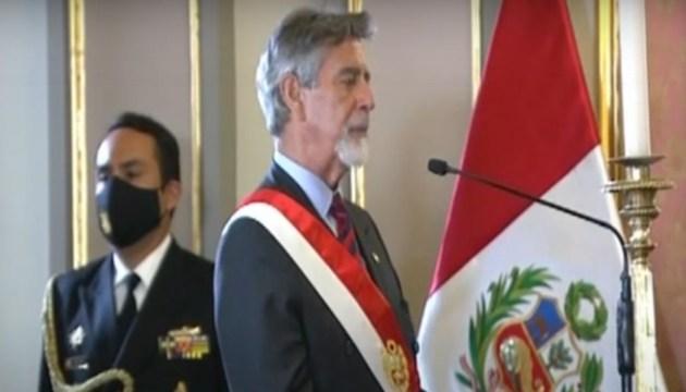 В Перу за неделю сменилось три президента. Новый глава государства принес присягу