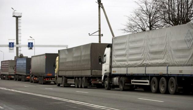 В Терехово огромные очереди грузовиков, в Гребнево – свободно