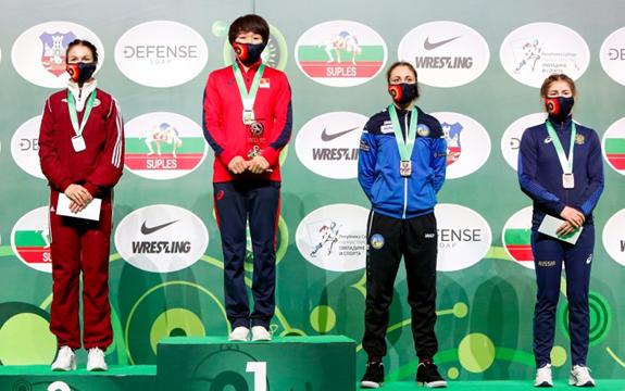 Анастасия Григорьева впервые завоевала серебро Кубка мира