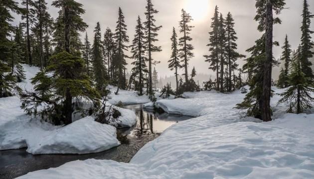 В Латгале ожидается снегопад