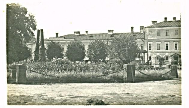 Сделан первый шаг к реставрации крепостного сада