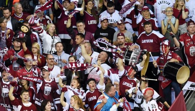 Опубликовано расписание матчей сборной Латвии на ЧМ по хоккею