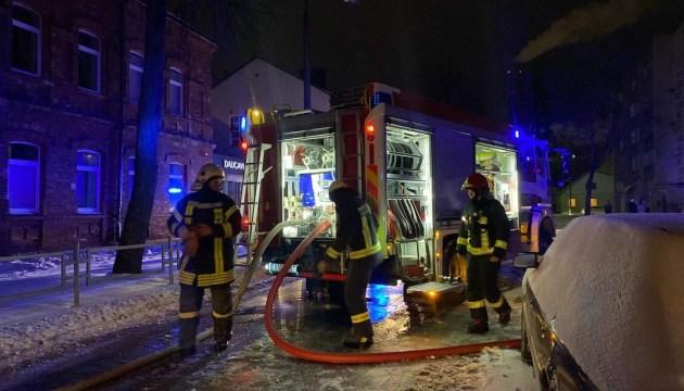 В Даугавпилсе из горящей квартиры спасли кота