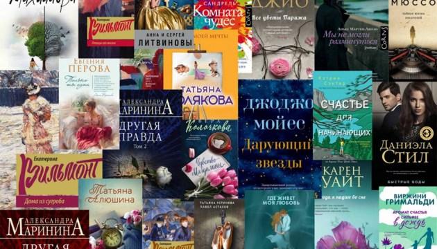 Самые читаемые книги художественной литературы в публичных библиотеках Даугавпилса за 2020 год