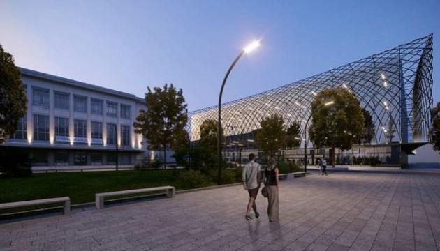 В центре Риги собираются построить современный спортивный центр