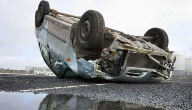 В воскресенье в Латгалии перевернулись две машины