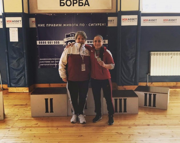 Успешное выступление Е. Ермаленок в Болгарии