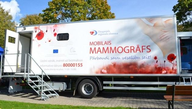 Мобильный маммограф продолжает работу (ГРАФИК на апрель)