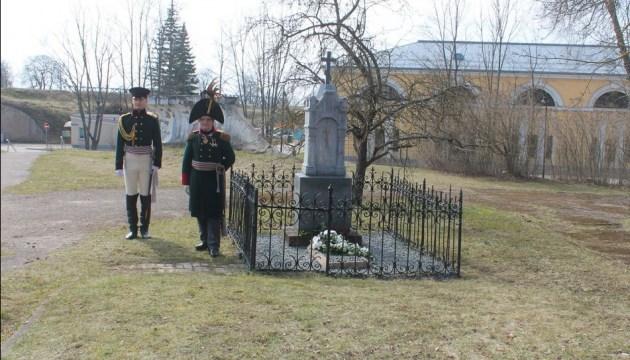 В крепости почтили память коменданта 19-го века