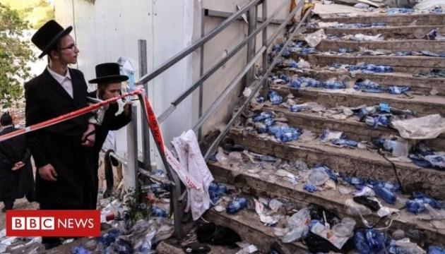 В Израиле во время религиозного праздника погибли десятки людей