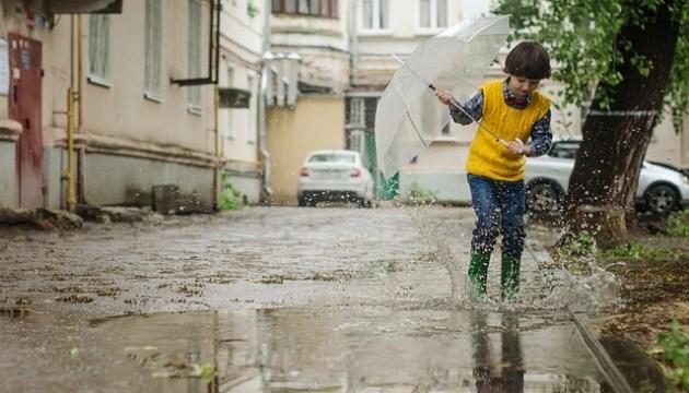 Погода на сегодня: дождь, возможна гроза