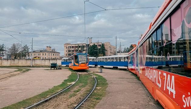 Daugavpils satiksme предупреждает об изменении в движении трамваев
