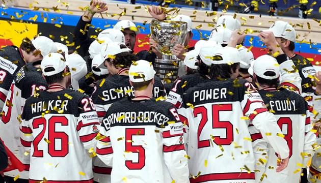 Чемпионом мира по хоккею стала Канада