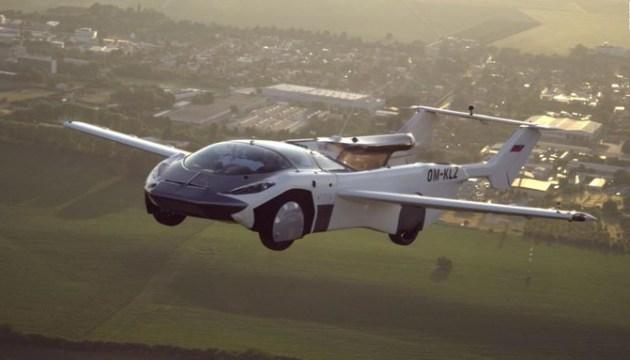 Состоялся первый междугородний перелет с участием летающего автомобиля