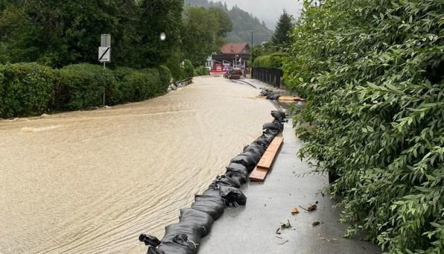Наводнение в Австрии глазами даугавпилчанки (ФОТО, ВИДЕО)