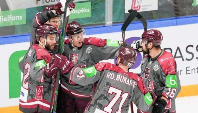 Во 2-м хоккейном матче отбора на Олимпиаду Латвия разгромила Венгрию 9:0