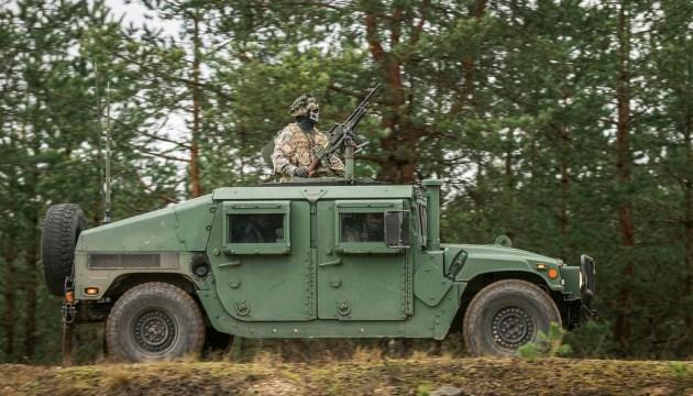 По всей Латвии начались международные военные учения Namejs 2021