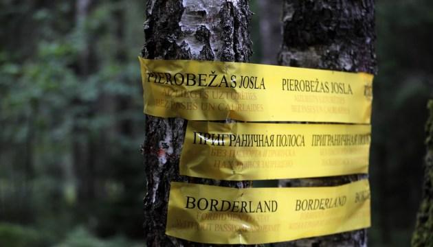 Вчера предотвратили попытки 29 человек незаконно пересечь латвийско-белорусскую границу
