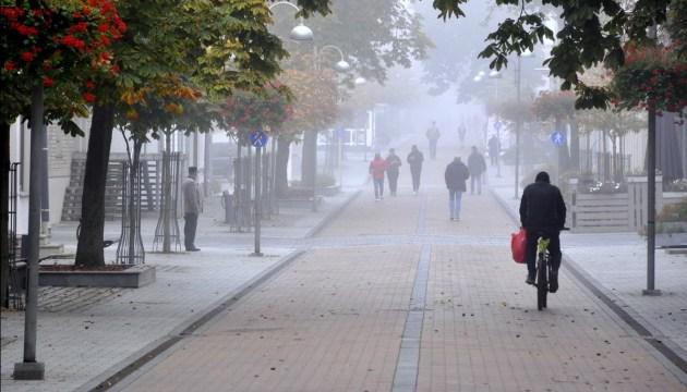 Температура воздуха в Латгале и Видземе местами опустилась ниже нуля